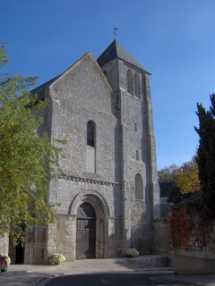 l'église de Beaugency